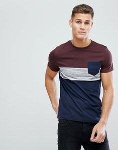 Read more about Asos design t-shirt with pocket in inject fabric - navy