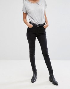Read more about Pieces rika raw hem skinny jeans