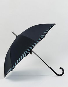 Read more about Fulton bloomsbury 2 block stripe umbrella - black stripe
