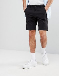 Read more about Farah hawk chino twill shorts in black - 001black