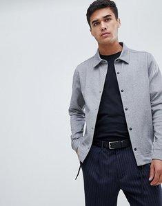 Read more about Jack jones premium jersey coach jacket - light grey