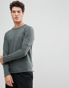 Read more about Selected homme sweatshirt with raglan sleeve and straight hem - urban chic