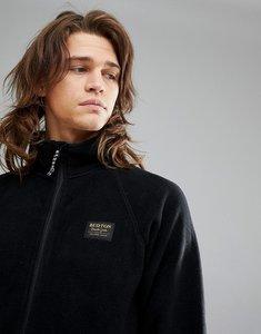 Read more about Burton snowboards ember full zip fleece sweatshirt in black - true black