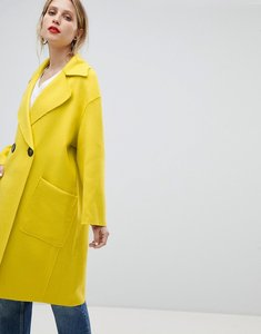 Read more about Mango edge to edge lightweight car coat - lime green