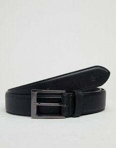 Read more about Original penguin skinny leather smart belt - black