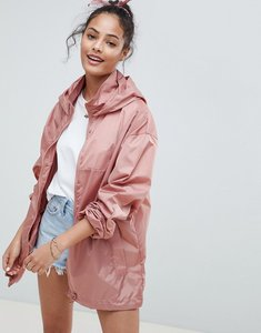 Read more about Asos rain jacket with bumbag - pink