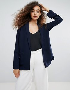 Read more about Warehouse relaxed blazer - navy