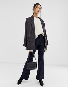 Read more about Gestuz malene cen pinstripe flared trousers