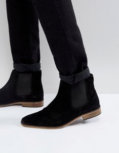 Read more about Kg by kurt geiger suede chelsea boots - black