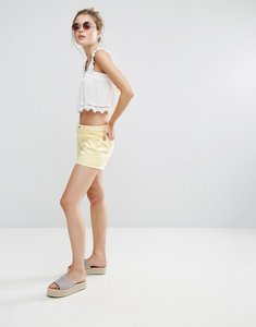 Read more about Pull bear denim shorts - yellow