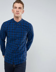 Read more about French connection big gingham shirt - blue