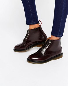 Read more about Dr martens kensington emmeline 5-eye cherry boots - cherry