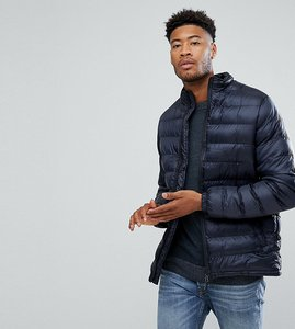 Read more about D-struct tall lightweight padded jacket - navy
