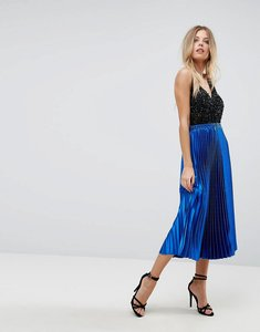 Read more about Y a s pleated skirt - blue