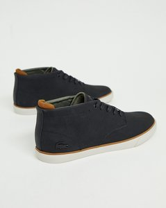 823b3a180 Read more about Lacoste esparre winter c 318 3 chukka boots in black - black