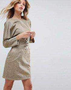 Read more about Asos casual mini dress - khaki