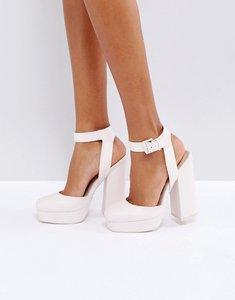 Read more about Asos pinata platform heels - pink