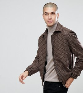 Read more about Heart dagger jacket in dogstooth - brown