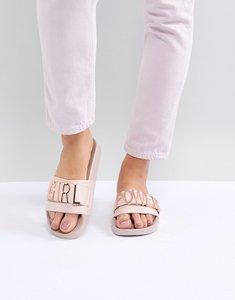 02ab66975b935 steve madden symona toepost flat sandals silver - Shop steve madden ...