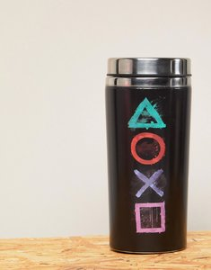 Read more about Playstation travel mug - multi