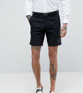 Read more about Only sons skinny smart shorts - black