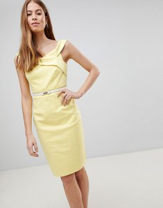 Read more about Paper dolls yellow crochet dress - lemon