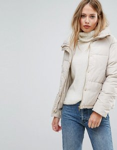 Read more about Vero moda high neck padded jacket - beige
