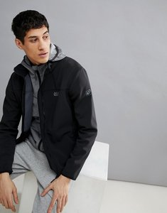 Read more about Jack wolfskin essential altis soft shell jacket in black - black