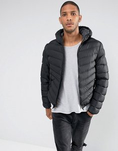 Read more about Brave soul hooded padded jacket - black