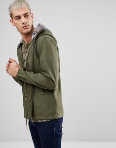 Read more about Pretty green beckford jacket in green - khaki