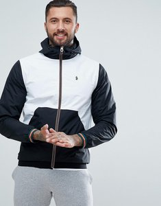 Read more about Luke sport nurmi full zip windbreaker in white mix - white mix