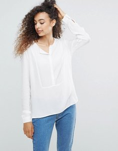 Read more about Mbym grandad collar blouse - sugar