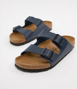 Read more about Birkenstock arizona birko-flor sandals in blue - blue