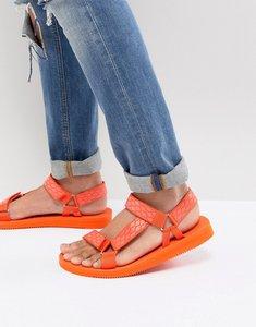 Read more about Aldo moesen tech sandals in orange - orange