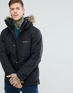Read more about Didriksons 1913 marc parka in black with faux fur collar in black - black 060