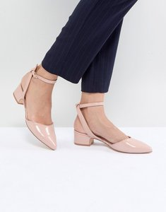 Read more about Aldo zewiel low heel pointed shoes - nude