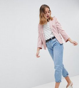 Read more about New look petite ponte blazer - pink