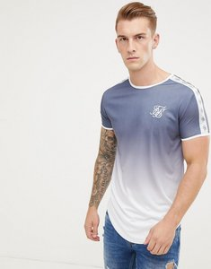 Read more about Siksilk t-shirt in navy fade