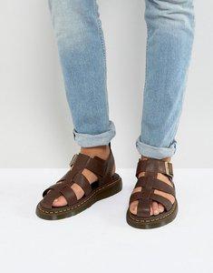 Read more about Dr martens galia carpathian sandals in tan - tan