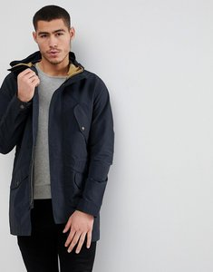Read more about Jack jones premium lightweight parka with wire hood - dark navy