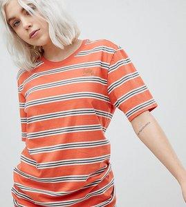 Read more about Nike sb striped t-shirt in orange - orange