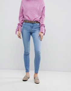 Read more about Vero moda high waisted skinny jean - light blue