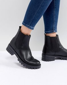 Read more about Asos design aquarius chelsea boots - black