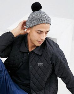 654b2e7cc56 From Asos design. NEW IN. Read more about Asos mini fisherman bobble beanie  in black twist - black
