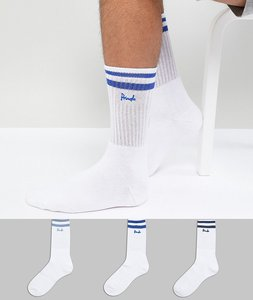 Read more about Pringle sport socks 3 pack - white