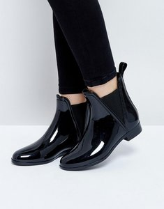 Read more about Asos design game chelsea wellies - black