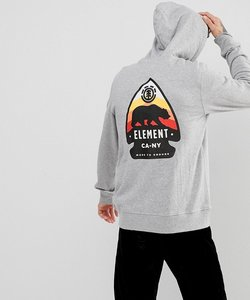 Read more about Element arrow back print in grey - grey