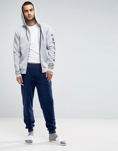 Read more about Tommy hilfiger cuffed joggers polar fleece in navy - navy blazer