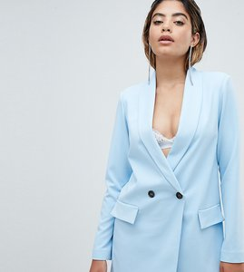 Read more about Missguided tailored blazer - blue