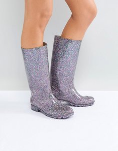 Read more about Asos gangster glitter wellies - multi